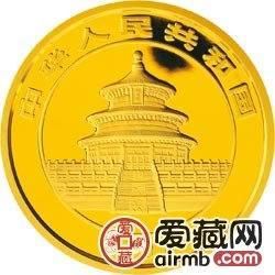 2008版熊猫金银币1公斤金币