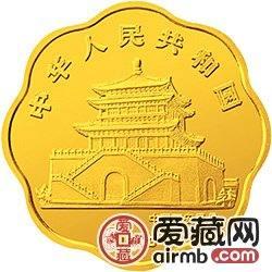 中国癸酉鸡年金银铂币1/2盎司徐悲鸿所绘《雄鸡图》梅花形激情乱伦
