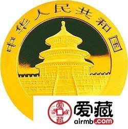 2008版熊猫金银币1/20盎司熊猫激情乱伦