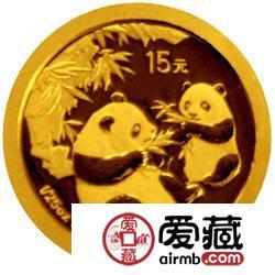 熊猫金币发行25周年金银币2006年熊猫普制金币