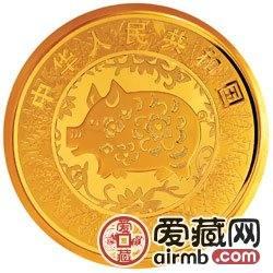 2007中国丁亥猪年金银币10公斤金币