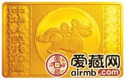 2006中国丙戌狗年金银币5盎司长方形金币