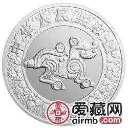 2006中国丙戌狗年金银币1公斤银币