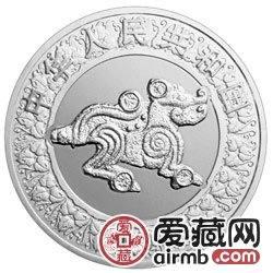 2006中国丙戌狗年金银币1盎司银币