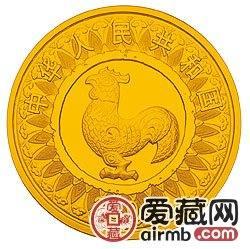 2005中国乙酉鸡年金银币1/10盎司激情乱伦