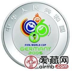 2006年德国世界杯足球赛金银币1公斤彩色银币