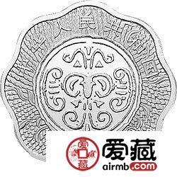 2003中国癸未羊年金银币1盎司梅花形银币