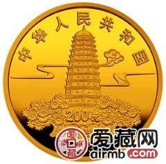 佛指舍利纪念金银币1/2盎司金币