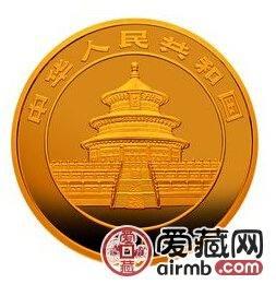 2004版熊猫贵金属纪念币1公斤金币