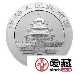 2004版熊猫贵金属纪念币1/20盎司银币