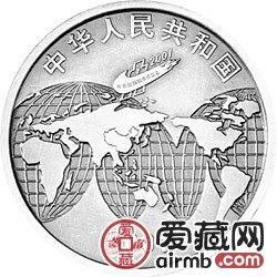 2001年北京国际钱币博览会纪念银币