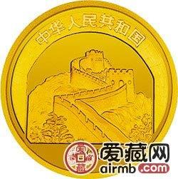中国传统文化金银币1盎司六合塔金币