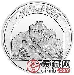 中国传统文化金银币22克六合塔银币