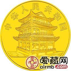 中国京剧艺术彩色金银币1/2盎司梁红玉彩色金币