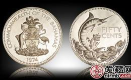 巴哈马银币图片鉴赏