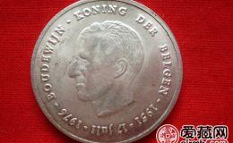 比利时博杜安一世银币250法郎图片鉴赏