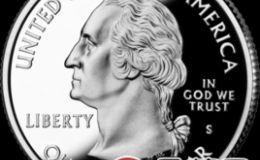 美国华盛顿镍币25美分硬币图文解析