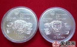 蒙特利尔奥运会纪念银币图文解析