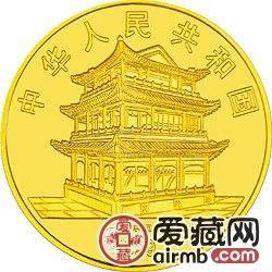 中國京劇藝術彩色金銀幣《貴妃醉酒》人物造型、梅蘭芳頭像彩金幣