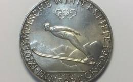 奥地利冬奥会纪念银币100先令图文解析