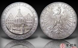 德国法兰克福议会银币5马克图文鉴赏