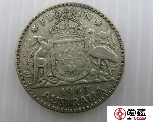 英属澳大利亚银币25分图文赏析