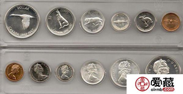 加拿大邦联百年纪念银币图文赏析