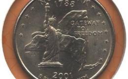 美国纽约州纪念币图文解析
