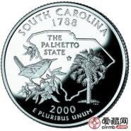 美国南卡罗来纳州纪念币图文介绍