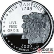 美国新罕布什尔州纪念币图文赏析