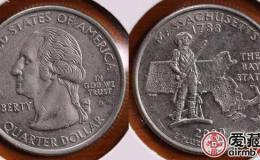 美国马萨诸塞州纪念币图文解析