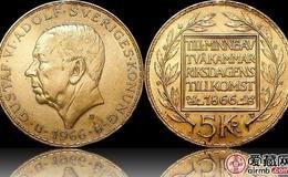 瑞典银币5克朗图文欣赏