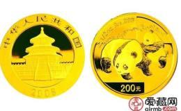 2008年5盎司熊猫金币价格及图片