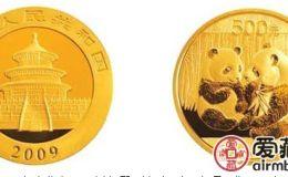 2009年5盎司熊貓金幣價格及圖片