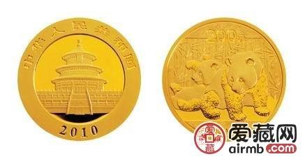 2010年5盎司熊猫金币