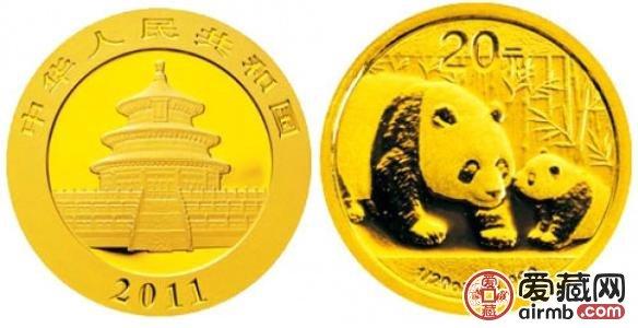 2011年5盎司熊猫金币