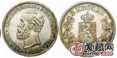 瑞典银币2克朗图文解析