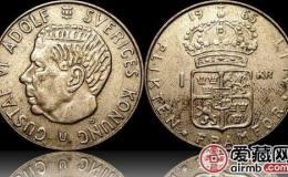 瑞典银币1克朗图文鉴赏