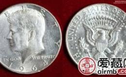 美国肯尼迪银币半圆图文赏析