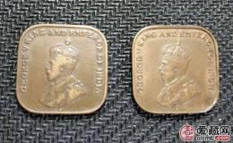 英属马来亚方形铜币1分图文解析