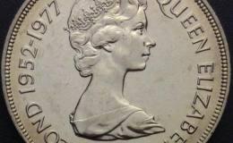 伊丽莎白登基25周年镍币1克朗图文解析