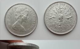英国女王母亲诞辰镍币1克朗图文赏析