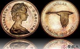 加拿大伊丽莎白二世银币1元图文解析