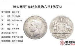 英属澳大利亚银币1佛罗林图片欣赏