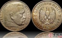 德国银币5马克图文赏析