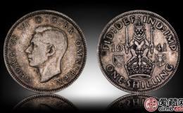 英国乔治六世银币1先令图文赏析
