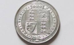 英国维多利亚银币1先令图文赏析