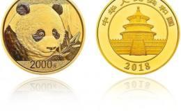 2018年150克熊猫金币图片赏析