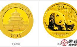 2011年熊猫金币套装金套猫图文鉴赏