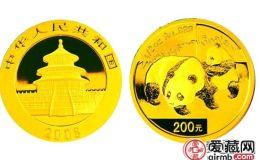 2008年一公斤熊貓金幣價格及圖片